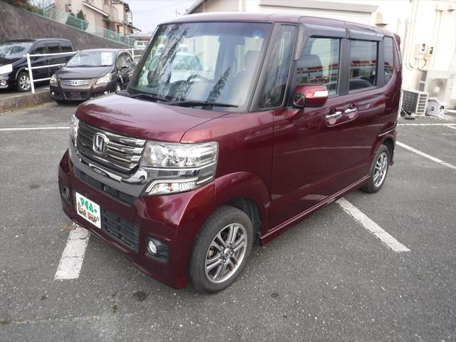 「ホンダ」「N-BOX+カスタム」「コンパクトカー」「愛知県」の中古車3