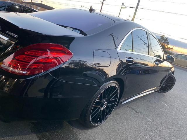 S400ハイブリッド エクスクルーシブ AMGライン ツインルーフ パワーシート パワートランク 黒革シート(21枚目)