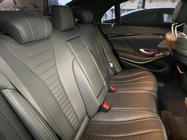 S400ハイブリッド エクスクルーシブ AMGライン ツインルーフ パワーシート パワートランク 黒革シート(34枚目)