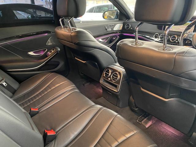 S400ハイブリッド エクスクルーシブ AMGライン ツインルーフ パワーシート パワートランク 黒革シート(35枚目)