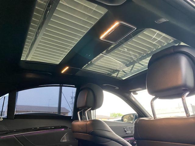 S400ハイブリッド エクスクルーシブ AMGライン ツインルーフ パワーシート パワートランク 黒革シート(39枚目)
