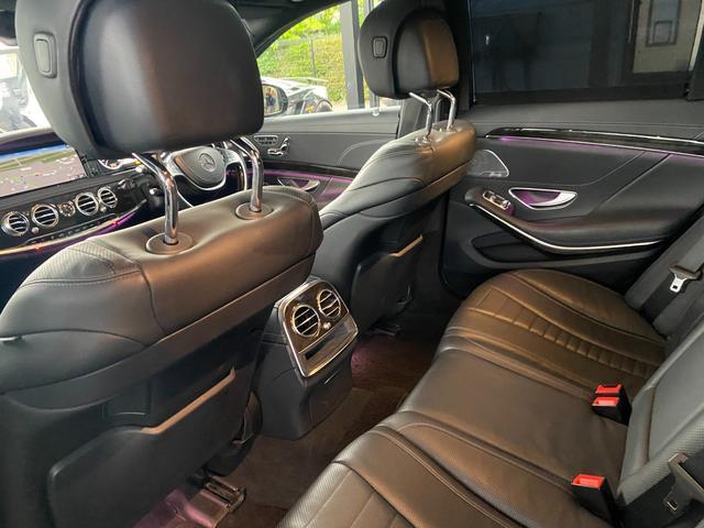 S400ハイブリッド エクスクルーシブ AMGライン ツインルーフ パワーシート パワートランク 黒革シート(42枚目)