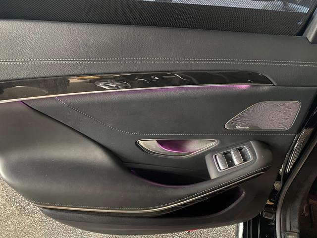 S400ハイブリッド エクスクルーシブ AMGライン ツインルーフ パワーシート パワートランク 黒革シート(44枚目)
