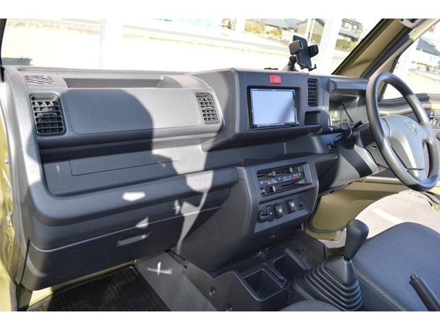 スタンダード 4WD 2インチリフトアップ バンパーガードパイプ 社外14インチアルミホイール マッドタイヤ 大型LEDフォグランプ フルセグナビ ETC(20枚目)