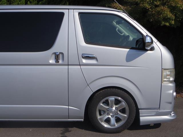 トヨタ ハイエースバン ロングスーパーGLプラドホイールFリップ