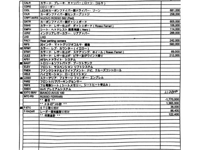 「フェラーリ」「フェラーリ 488スパイダー」「オープンカー」「愛知県」の中古車4
