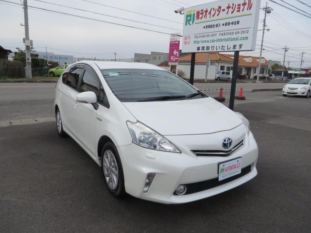 「トヨタ」「プリウスα」「ミニバン・ワンボックス」「愛知県」の中古車3