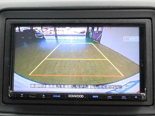 後方の視界をカメラで補ってくれます、安全確認の補助として役立ってくれます。