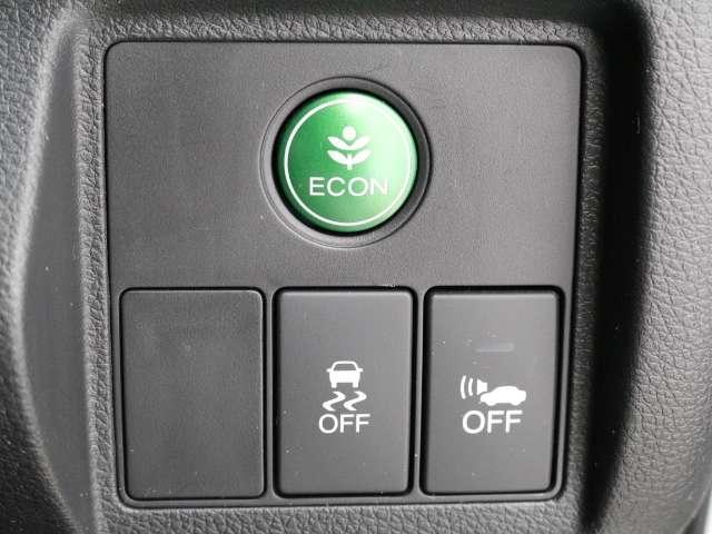 エアコンやオートマを燃費が良くなるように制御する『ECON』スイッチ付き! スイッチを『オン』するだけで燃費が良くなります! 素晴らしいですね♪