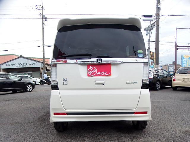 ホンダ N BOXカスタム G・Aパッケージ 1オーナ- 社外SDナビ 片側Pドア
