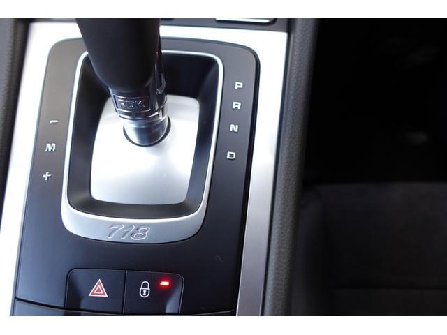 718ボクスター 1オーナー5800キロベースグレード2リッター+ターボPDKボルドーカラースポーツクロノ内装色アゲードグレーレッドカラーシートベルトシートヒーター電動可倒式ミラーデイライトバックカメラETCナビ禁煙車(11枚目)