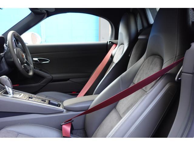 718ボクスター 1オーナー5800キロベースグレード2リッター+ターボPDKボルドーカラースポーツクロノ内装色アゲードグレーレッドカラーシートベルトシートヒーター電動可倒式ミラーデイライトバックカメラETCナビ禁煙車(13枚目)
