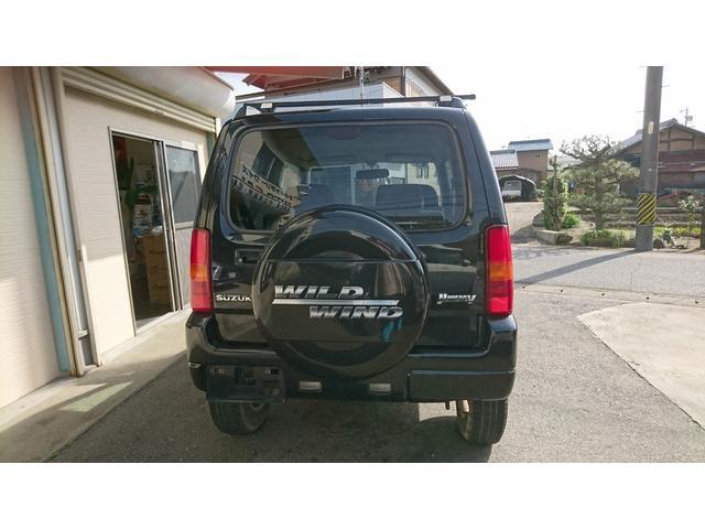 ワイルドウインド 4WD ナビ 電格ミラー キーレスエントリー AC 衝突安全ボディ(14枚目)
