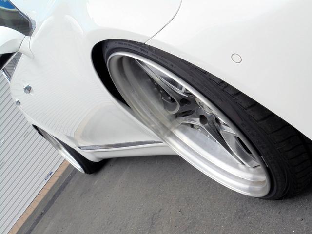レクサス LS LS460 バージョンS Iパケ Tディメ車高調アーム 黒革