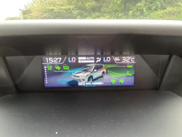 プレミアム 純正8型ナビ フルセグ Bluetooth 黒革シート 全席シートヒーター アイサイト AWD 電動リアゲート ETC LEDヘッド ナノイー フロント&サイド&バックカメラ スマートキー Pシート(22枚目)