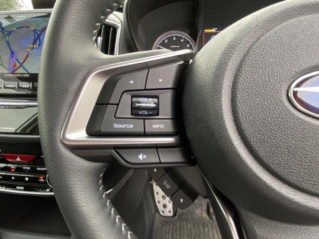 プレミアム 純正8型ナビ フルセグ Bluetooth 黒革シート 全席シートヒーター アイサイト AWD 電動リアゲート ETC LEDヘッド ナノイー フロント&サイド&バックカメラ スマートキー Pシート(25枚目)