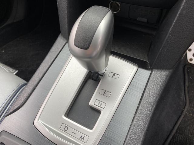 2.0GT DITアイサイト プレミアムレザーセレ AWD STiフロントリップ 純正HDDナビ 衝突軽減ブレーキ レーンキープ 革シート メモリー付パワーシート バックカメラ HIDヘッド ETC シートヒーター スマートキー Bluetooth(19枚目)