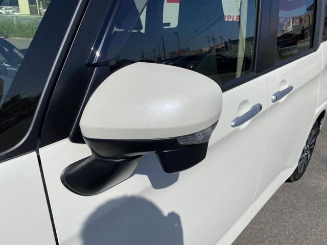 カスタムG 4WD 両側パワスラ 衝突軽減 クルコン アイスト Cセンサー AHB シートヒーター LEDヘッドライト フォグランプ ウインカーミラー スマートキー プッシュスタート 純正14AW(10枚目)