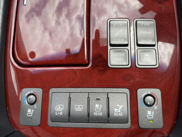 LS600hL バージョンUZ マークレビンソン レーダークルーズ 後席モニター リアシートマッサージ機 革シート 4WD 衝突軽減ブレーキ シートヒーター シートメモリー 純正HDDナビ バックカメラ ステアリングヒーター(30枚目)