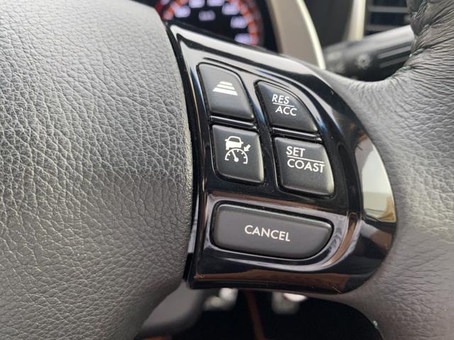 2.5iアイサイト AWD アイサイト クルーズコントロール 純正メモリーナビ バックカメラ シートヒーター ETC ハーフレザー HIDヘッド パワーシート 障害物センサー パドルシフト Bluetooth DVD再生(25枚目)