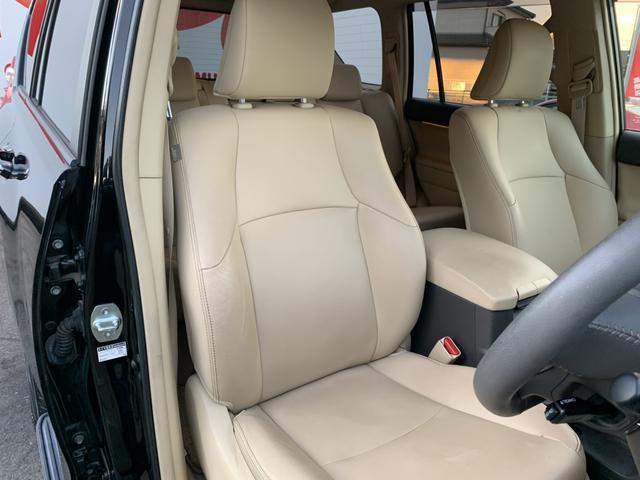 TX Lパッケージ 4WD 革シート 純正HDDナビ バックカメラ ETC クルーズコントロール シートヒーター パワーシート LEDヘッド フォグ フルセグ DVD再生 Bluetooth ヘッドライトウォッシャー(16枚目)
