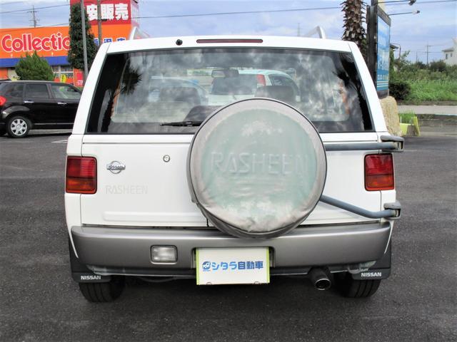 「日産」「ラシーン」「SUV・クロカン」「愛知県」の中古車3