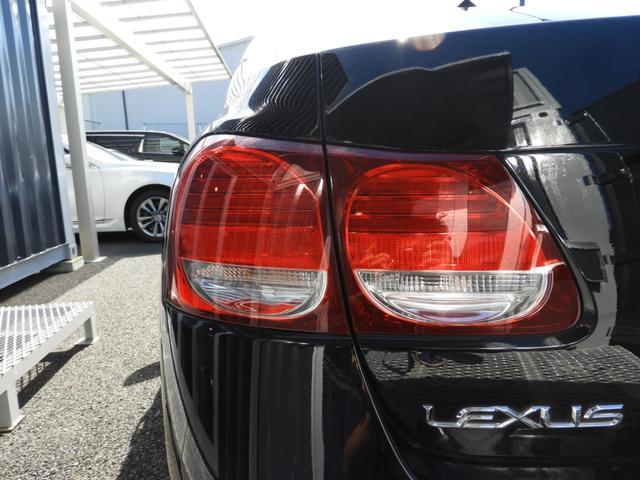 レクサス GS GS450h/新品スピンドルグリル/新品ヘッド/黒革シート
