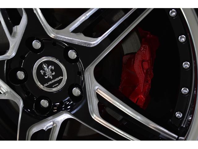 2.5アスリート アニバ新品車高調黒革SR WORK20in(2枚目)