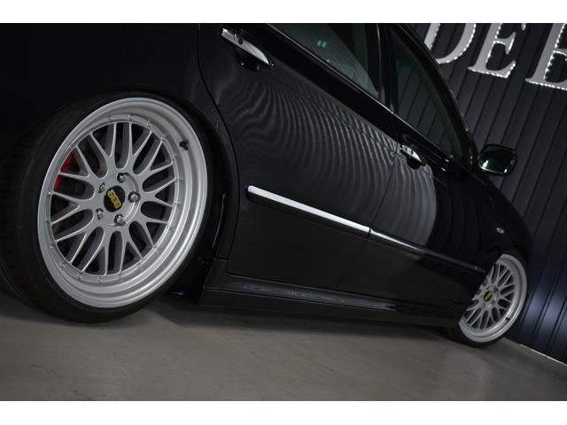 Cフルエアロ新品19AW新品タイヤ サスコン黒内装(8枚目)