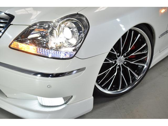 C黒革フルエアロWORKサスコン新品タイヤ(9枚目)