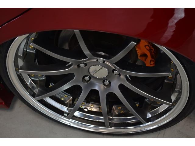 C後期アンサーエアロ黒革SSR20インチ新品タイヤ(5枚目)