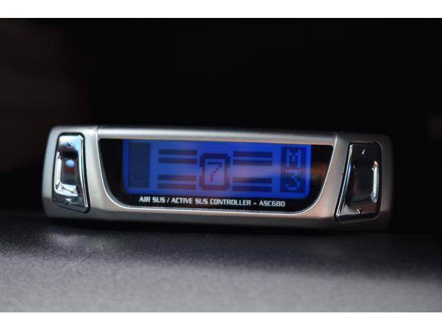 Cタイプ Fパッケージ 後期型 黒革シート サンルーフ HDDナビ DVD再生可能 フルエアロ エアサスコントローラー WORK20インチ カラーキャリパー LEDフォグ シートヒーター タイミングベルト交換済 ETC(10枚目)