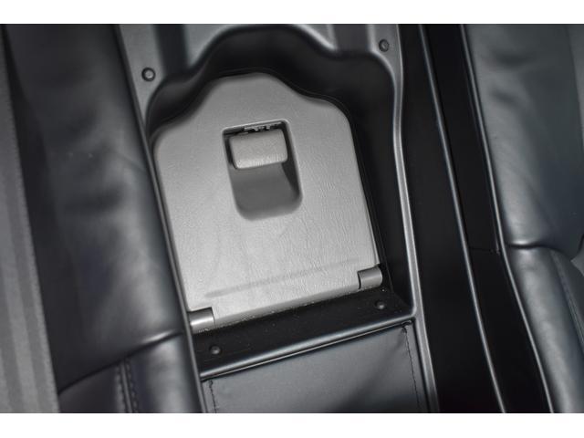 Cタイプ Fパッケージ 後期型 黒革シート サンルーフ HDDナビ DVD再生可能 フルエアロ エアサスコントローラー WORK20インチ カラーキャリパー LEDフォグ シートヒーター タイミングベルト交換済 ETC(47枚目)