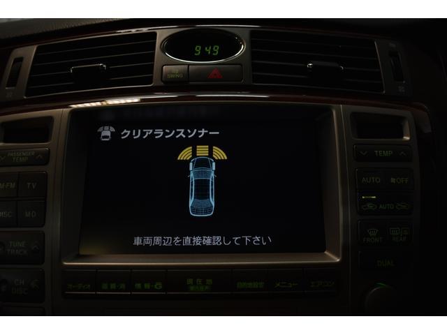 Cタイプ Fパッケージ 後期型 黒革シート サンルーフ HDDナビ DVD再生可能 フルエアロ エアサスコントローラー WORK20インチ カラーキャリパー LEDフォグ シートヒーター タイミングベルト交換済 ETC(53枚目)
