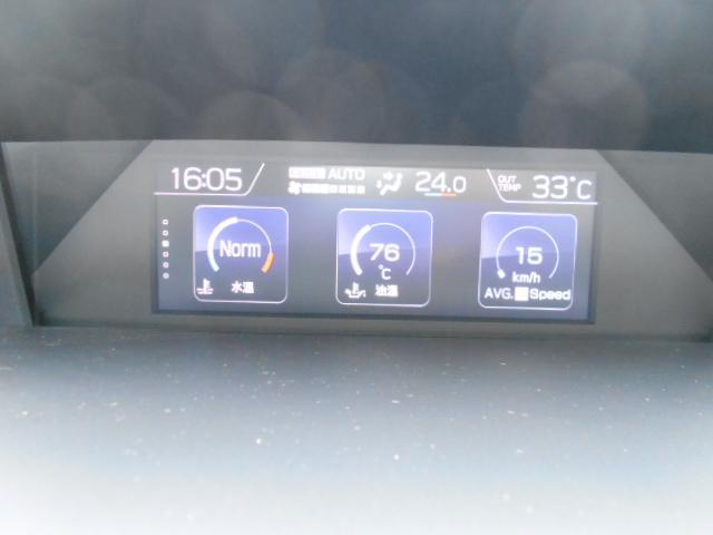 1.6i-L EyeSight デモカーアップ ナビ カメラ(12枚目)