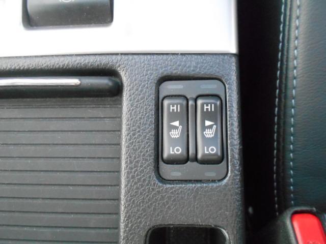 シートヒーター 前席にはシートヒーターが装備されていてぽかぽか暖かく快適です。特に冬のドライブにはもってこいです!