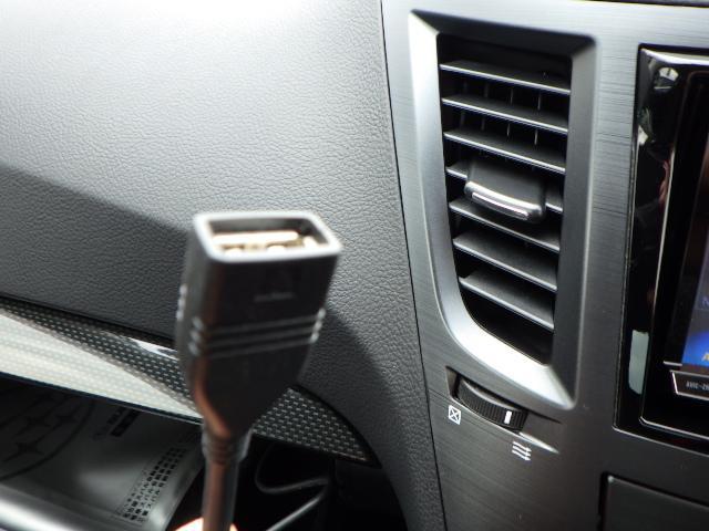 ナビ接続のUSB外部入力端子です。ミュージックプレイヤー接続も可能です。