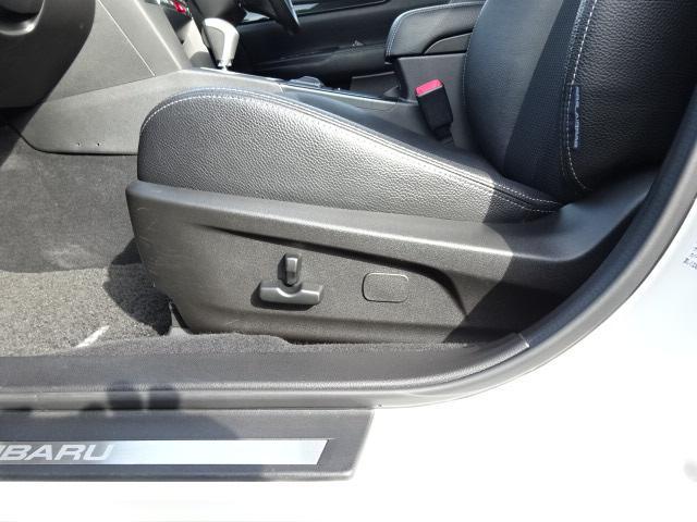 助手席パワーシート 電動シート採用で細かい微調整ができ、ドライビングポジションにしっかり合わせることで疲労軽減や事故防止につながります♪♪