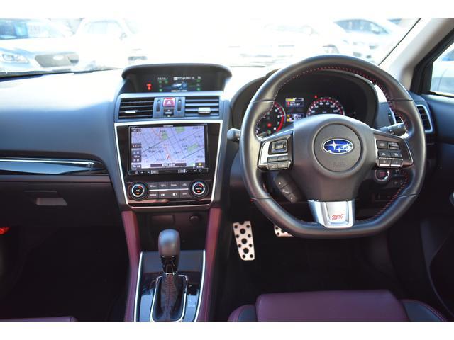 1.6STI Sport EyeSight メモリーナビ BluetuuthAudio接続 バックカメラ DSRC サイドビューモニター フロントビューモニター リヤ障害物センサー リヤビークルディテクション スマートリヤビューミラー ビルシュタインダンパー(6枚目)
