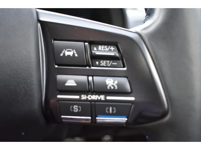 快適で安全なロングドライブを提供する追従機能付クルーズコントロール 設定した速度で走行が可能、アイサイトで前車との距離を確認しながら追従しますので長距離の運転に最適で疲労軽減や燃費の向上に役立ちます。