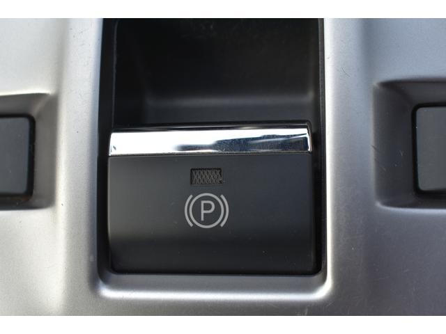 電動パーキングブレーキ スイッチひとつで作動・解除が可能。