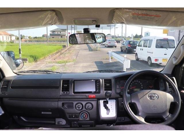 ロングDX ディーゼル バックカメラ Bluetooth リアクーラー AUX ベンチシート 六人乗り キーレス ETC 両側スライドドア エアコン パワステ プライバシーガラス(15枚目)