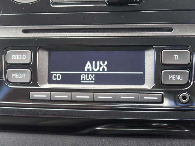 【純正オーディオ】メーカー純正オーディオ搭載。CD再生、AM/FMラジオが使えるオーディオです。AUX接続もオススメ!イヤホンで利くオーディオなら何でもつなげられます。