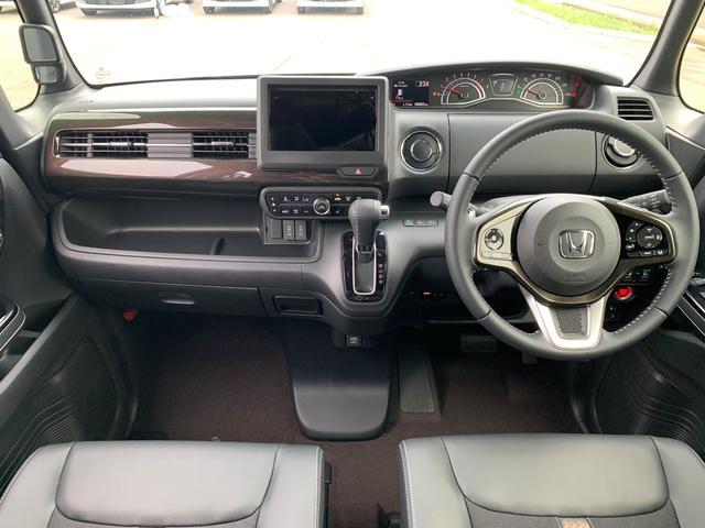 G・EXターボホンダセンシング 届出済み未使用車 両側電動スライドドア オーディオレス ナビ装着用パッケージ スマートキー LEDヘッドライト 純正15インチアルミホイール(2枚目)