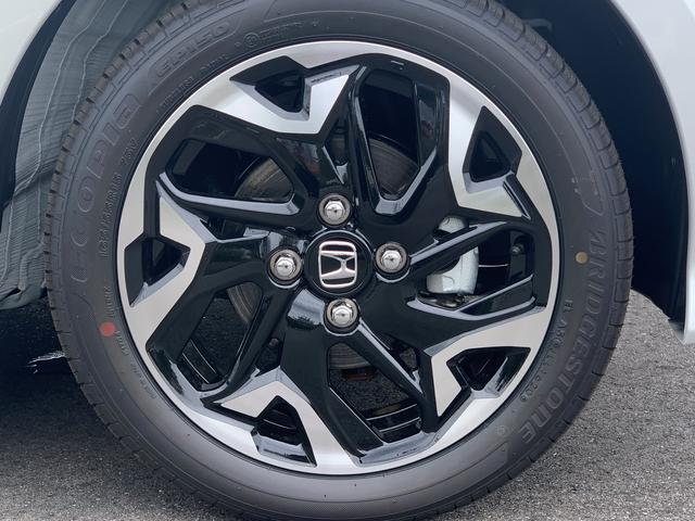 G・EXターボホンダセンシング 届出済み未使用車 両側電動スライドドア オーディオレス ナビ装着用パッケージ スマートキー LEDヘッドライト 純正15インチアルミホイール(18枚目)