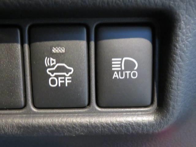 オートハイビーム・トヨタセーフティセンス。衝突軽減がついておりますので安心ですね!!