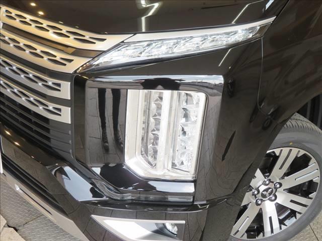 P 未使用 両側電動 Eアシスト 衝突軽減ブレーキ アダプティブクルーズコントロール シートヒーター パワーシート キャプテンシート ブレーキホールド 電子サイドブレーキ LED 7人 4WD(16枚目)