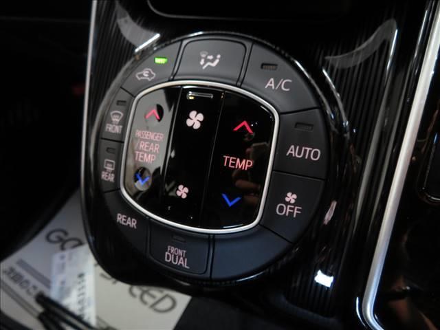 Gi プレミアムパッケージ ブラックテーラード 新車未登録 両側電動ドア セーフティセンス レーダークルコン クリアランスソナー ハーフレザーシート スマートキー LEDヘッドライト シートヒーター キャプテンシート 7人(10枚目)