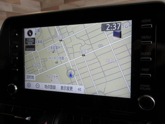 G-T 純正ナビ パノラミックビューモニター シートヒーター ハーフレザー クリアランスソナー ETC レーダークルーズ Bluetooth スマートキー LEDヘッド 後期(3枚目)