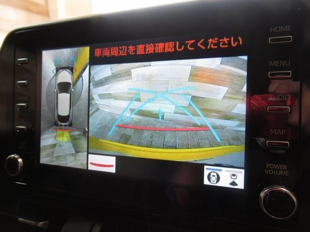 G-T 純正ナビ パノラミックビューモニター シートヒーター ハーフレザー クリアランスソナー ETC レーダークルーズ Bluetooth スマートキー LEDヘッド 後期(4枚目)